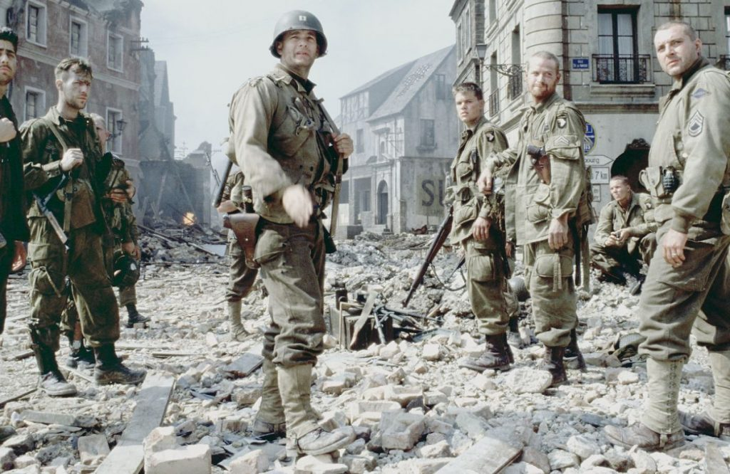 A still from the movie  Saving Private Ryan  Evergreen Movies